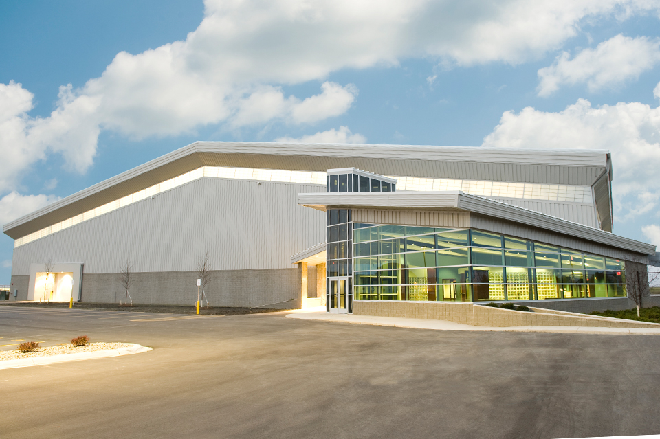Dow corning corporation aircraft hanger three rivers for Aircraft hanger designs