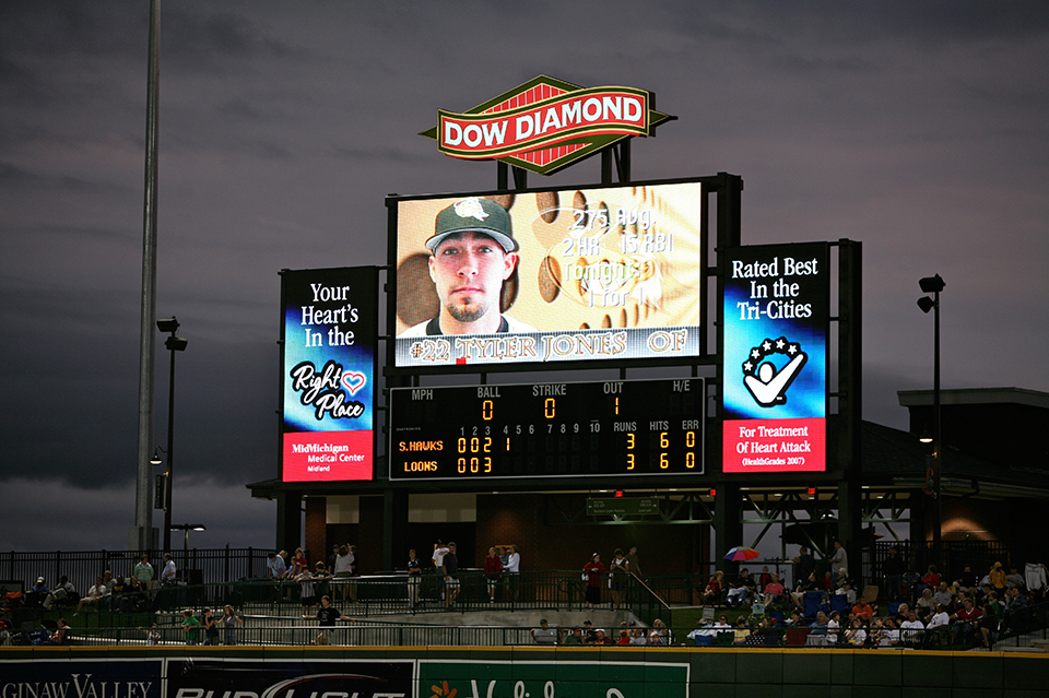 Dow Diamond Baseball Stadium Three Rivers Corporation