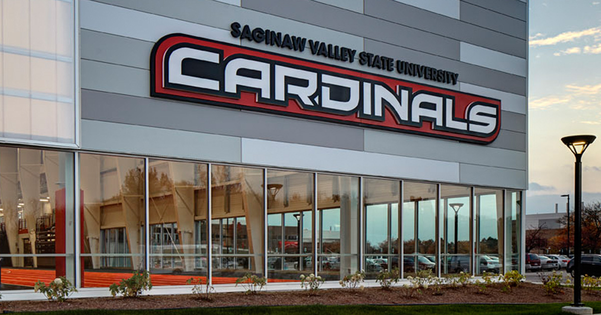 Saginaw Valley State University Turf Building Three
