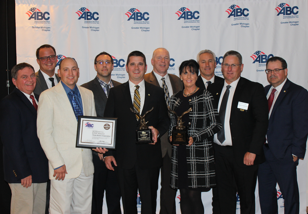 Three Rivers Corporation Wins ABC Greater Michigan Awards