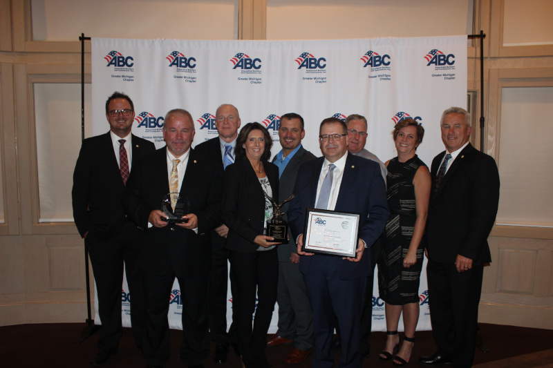 TRC Receives ABC Greater Michigan Awards